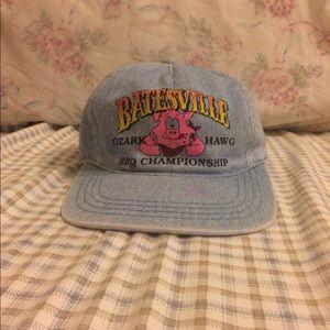 Other - Denim Batesville Arkansas Adjustable Strapback Hat